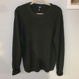 Men's H&M Forest Green Sweater